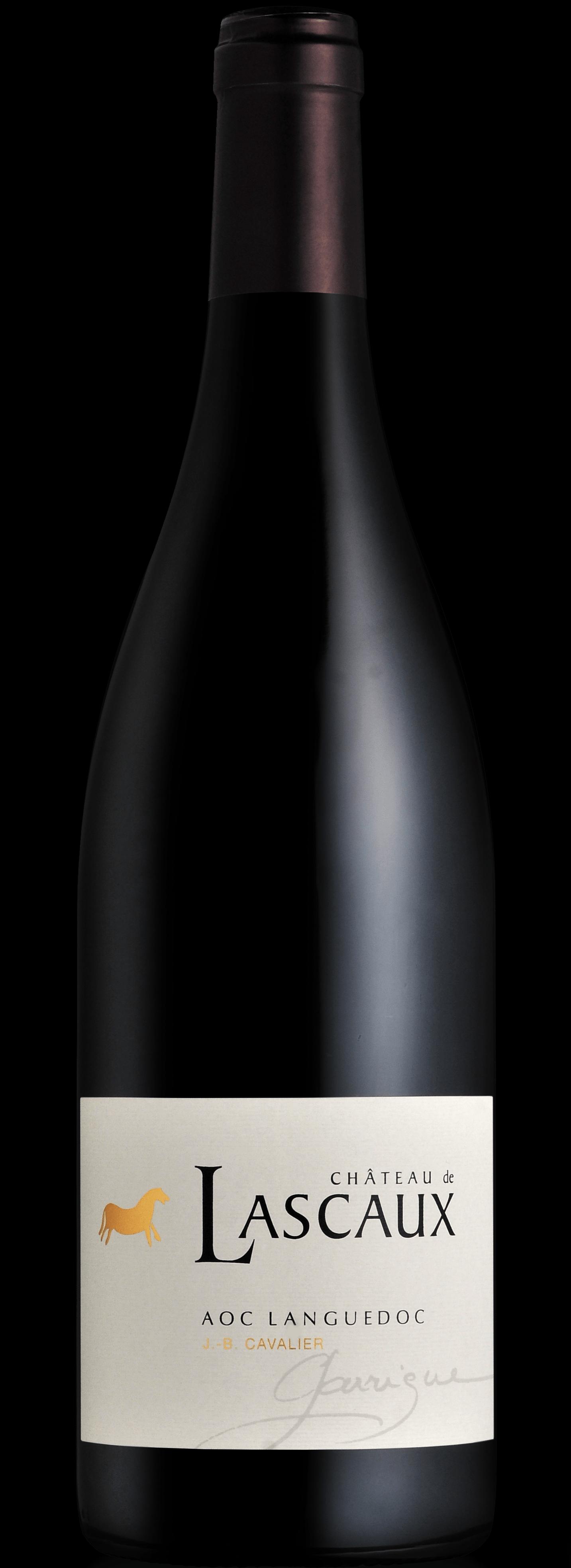 bouteille de vin rouge du Languedoc
