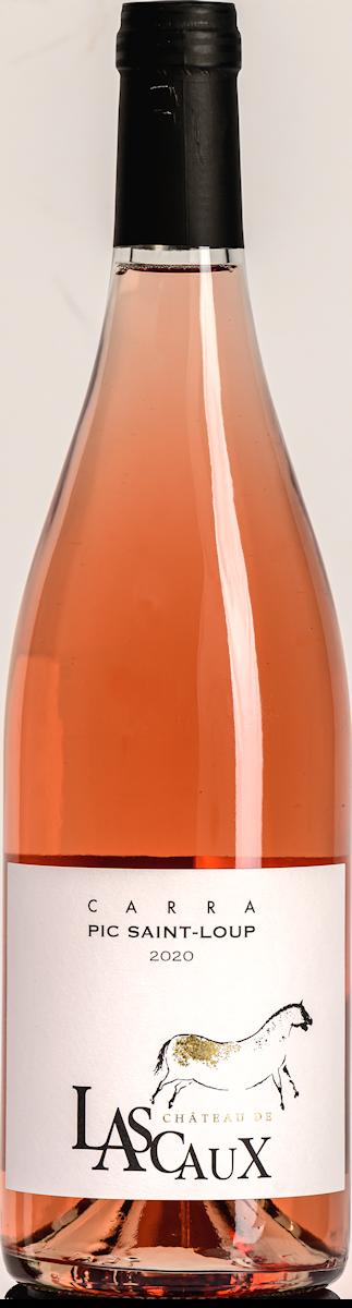bouteille de pic saint-loup rosé Château de Lascaux